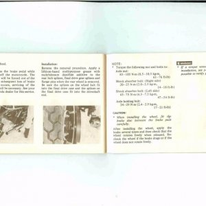 Owners Manual- 1984 GL1200 S-036