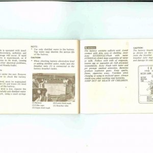 Owners Manual- 1984 GL1200 S-038