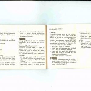 Owners Manual- 1984 GL1200 S-040