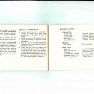 Owners Manual- 1984 GL1200 S-041