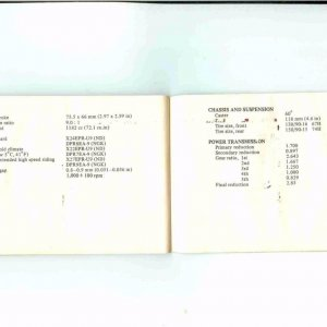 Owners Manual- 1984 GL1200 S-042