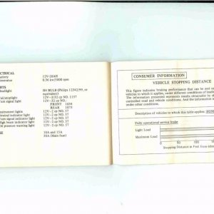 Owners Manual- 1984 GL1200 S-043