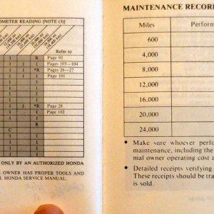 Maintenance Page 80 & 81