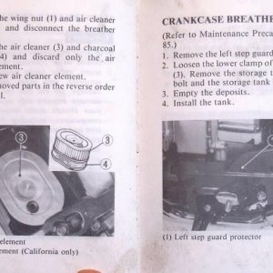 Filters, Lubrication Page 86 & 87