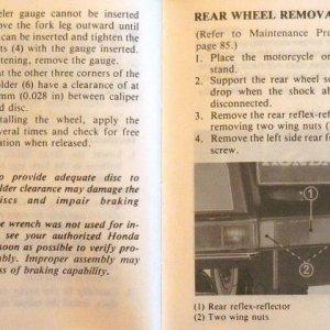 Frame, Wheels, Brakes Page 96 & 97