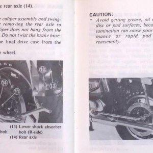Frame, Wheels, Brakes Page 98 & 99