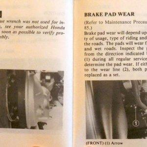 Frame, Wheels, Brakes Page 100 & 101