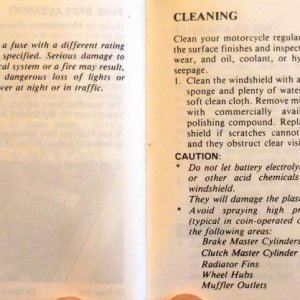 Electrical, Cleaning Page 106 & 107