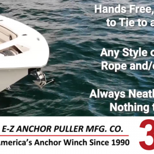 General Information - Three Benefits to an E-Z Anchor Puller Drum Anchor Winch