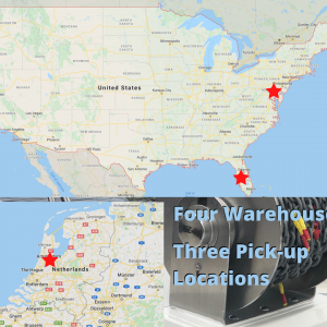 Our U.S. Warehouses offer local pickup options, shipping and local delivery!