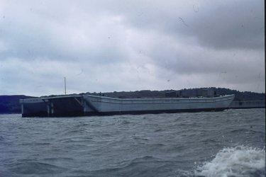 Poole Harbour Fuel Barges 8.74.JPG