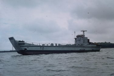 Poole Harbour landing craft 8.74.JPG