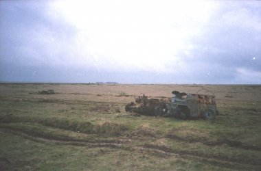 IMG_0070  Wrecked tank and personnel carrier.jpg