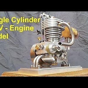 4 - Stroke OHV Engine Model - YouTube
