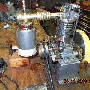 1936 Midget four stroke engine