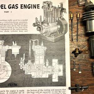 Original article for the 10cc four stroke engine