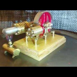Stirling Engine 'Gamma Type' - Laura