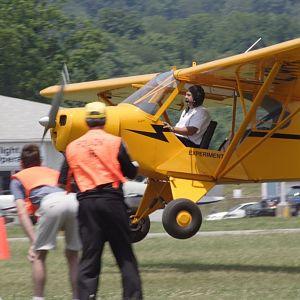 Spot landing contest
