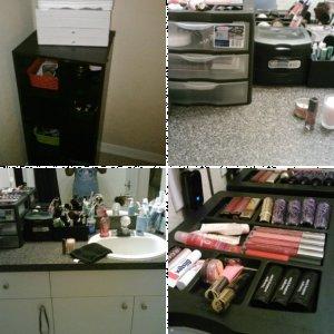 Makeup Stashes & Organization