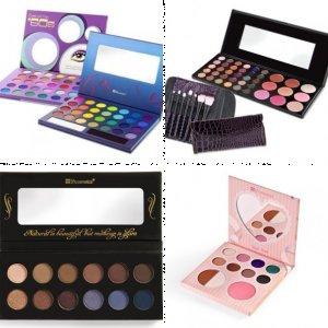 BH Cosmetics makeup guru palettes