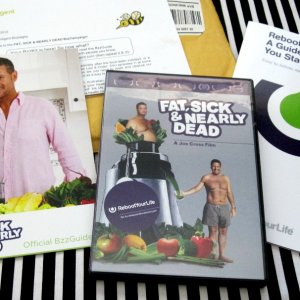 Fat, Sick, & Nearly Dead BzzAgent Campaign, dvd