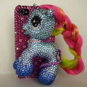 My Pretty Pony glam phone case