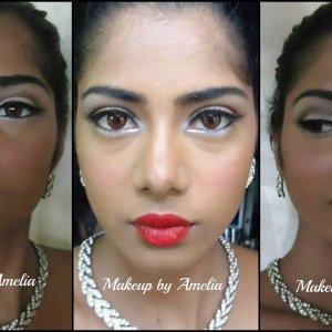 Bridal look :)