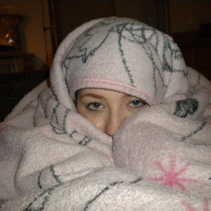How I like to hide in the house lol
