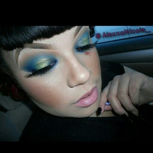 Tutorial for this look on Youtube  and my blog AlexxaNicole.com