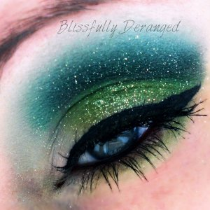 St. Patty's Day look with a bit of sparkle.