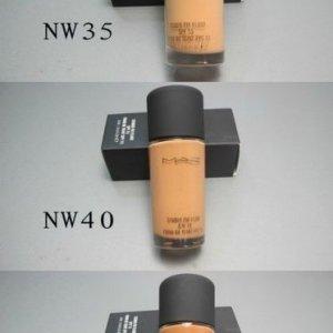 O Mac studio Fix spf15 flawless liquid foundation 6pcs 463e