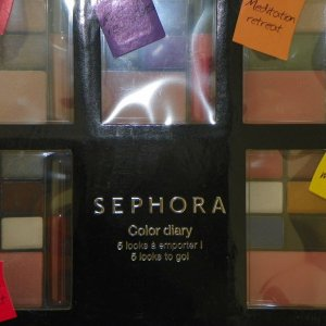 The Sephora Color Diary. The newest addition to my makeup. Thank you Makeup Talk!