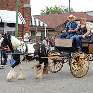 Lex and parade wagon