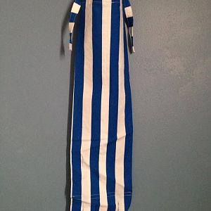 horse blue stripe