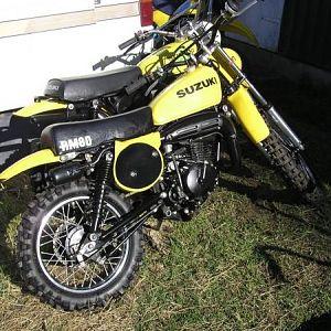 Doc 1977 Suzuki RM80B 1974 TM75L