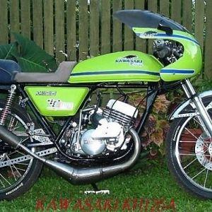 Doc. 1976 KH125A Kawasaki 2t Rotary Valve single.