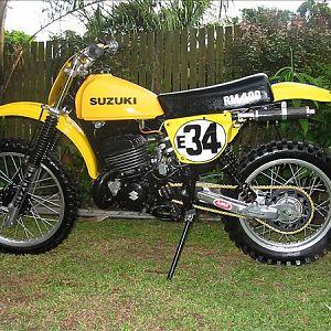Doc. 1978 Suzuki RM400C