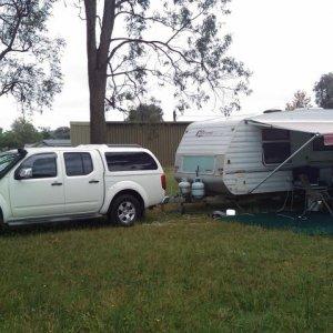 Camped At Broke, NSW