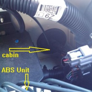 Cable Routing Out Of Cabin - D40