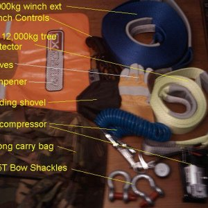 Basic Recovery Gear