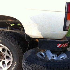 Shortened bumper