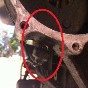 Sensor under the fuel pump 2