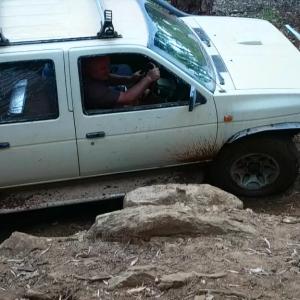 Wonderful hill / mud / rock track in Dardanup