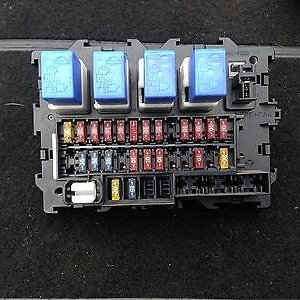 Need identity cover for this interior fuse and relays