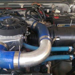 ZD30 intercooler
