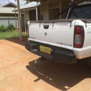 New rear bar