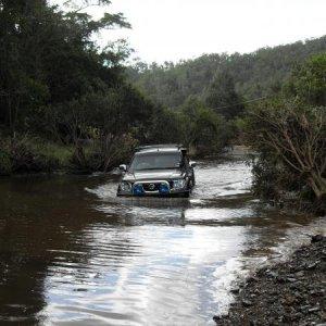 Water crossing, fun!