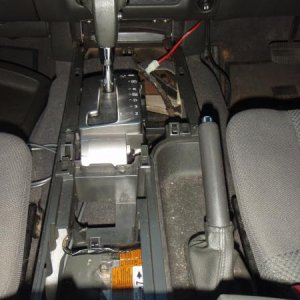 Removed Lower Center Console