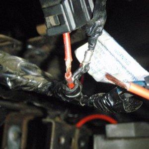 Rear of Constant Power Socket.