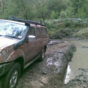 Winched out of a bog - Otways